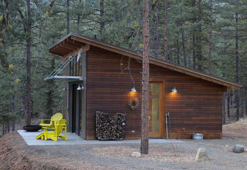 Hilton Construction Modern Passive Solar Ranch House